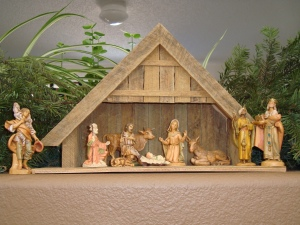 My manger scene