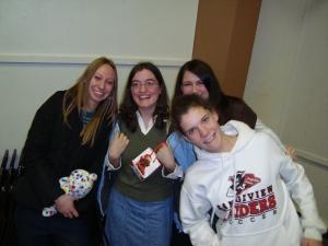 LieAnna, me, Bailey, and Harmony
